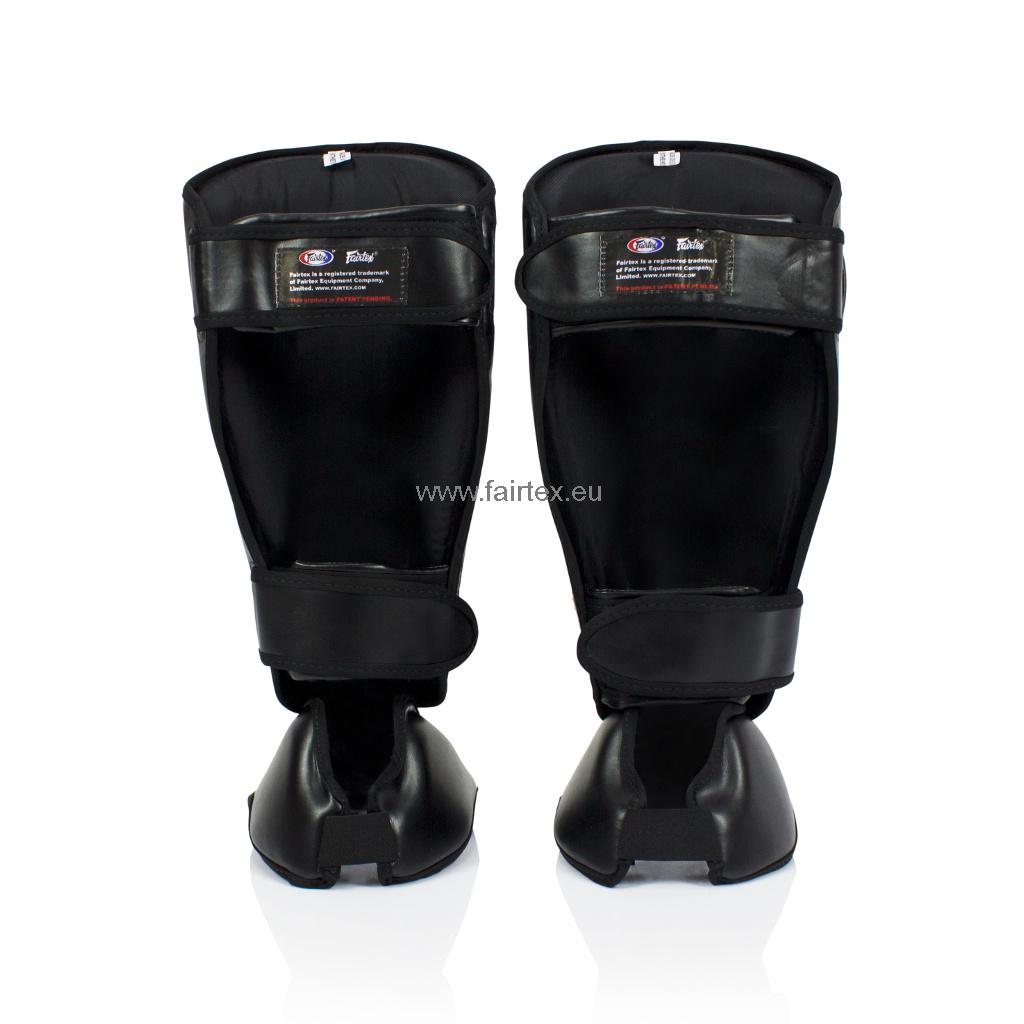 Fairtex SP7 Detachable In-Step Shin Pads - Black