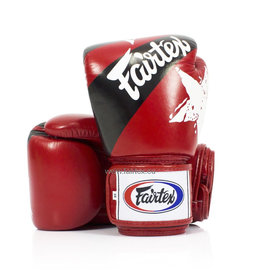"Fairtex BGV1 ""Nation Print"" Gloves - Red"