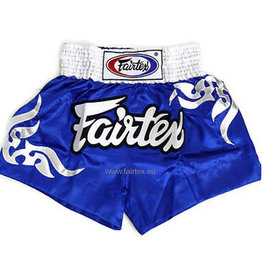 "Fairtex BS0624 ""Thai Glorious Pattern"" Shorts - Blue"