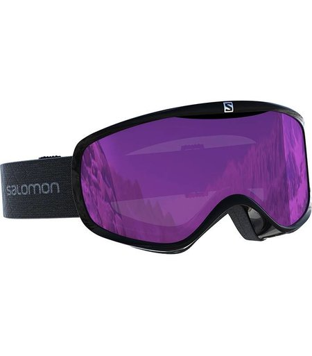 Salomon SENSE: Black / Universal Ruby