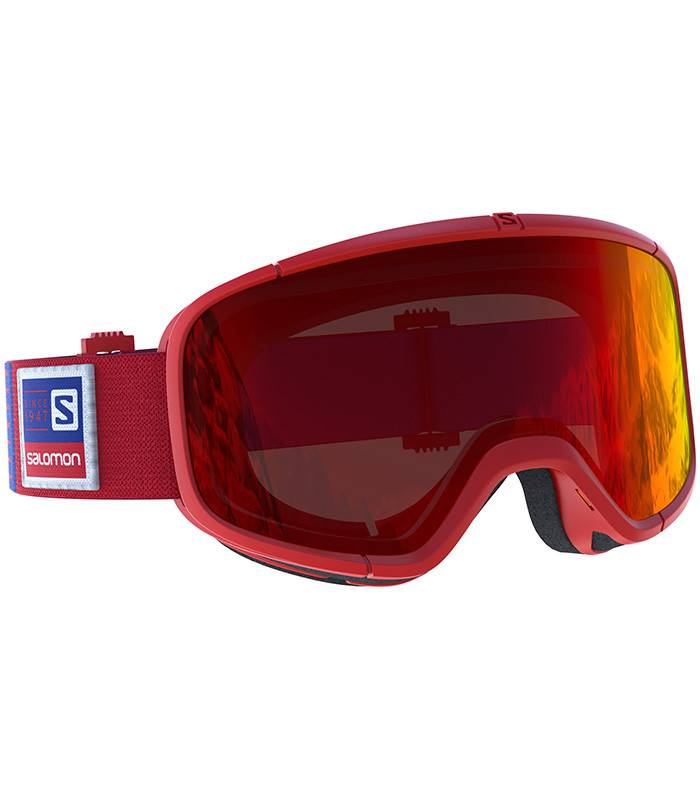 Salomon FOUR SEVEN Red: Universal Mid Red Multilayer