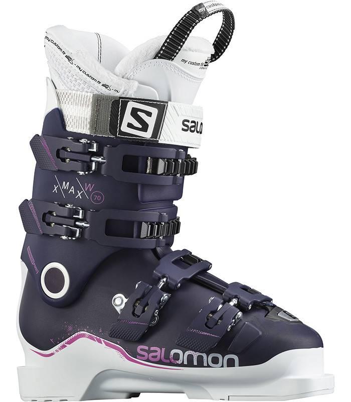 Salomon X MAX 70W: Eggplant / White / Pink