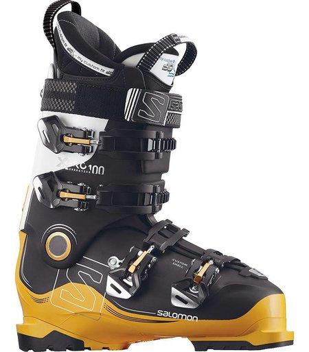 Salomon X PRO 100: Black / Safran / White Ski Boots