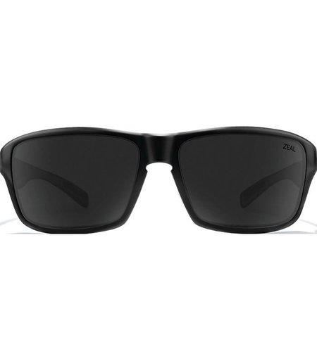 Zeal Optics INCLINE: Matte Black Frame - Ellume Dark Grey Lens