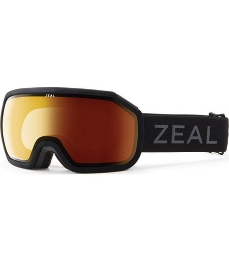 Zeal Optics FARGO: Matte Black: Dark Night Polarized Automatic