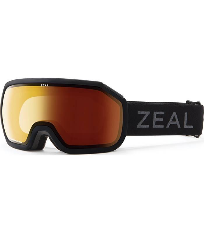 Zeal Optics FARGO: Matte Black: Dark Night Polarized Automatic