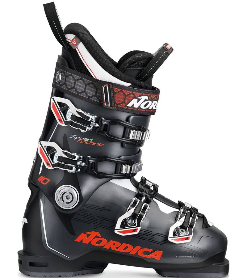 Nordica SPEEDMACHINE 110 Black Red & White
