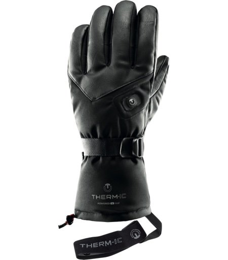 Thermic Leather Heated Gloves