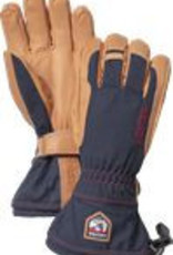 Hestra NAVY WOOL TERRY FIVE FINGER GLOVES