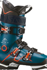 Salomon QST PRO 120: Petrol Blue / Black / Orange Ski Boots