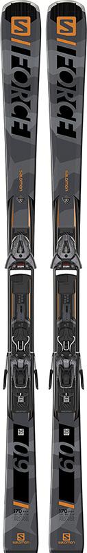 Salomon S/FORCE 9 SKIS + Z10 GW BINDING
