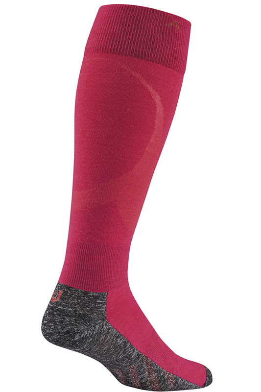 Wigwam Moarri Ultralight Bright Rose Ski Socks