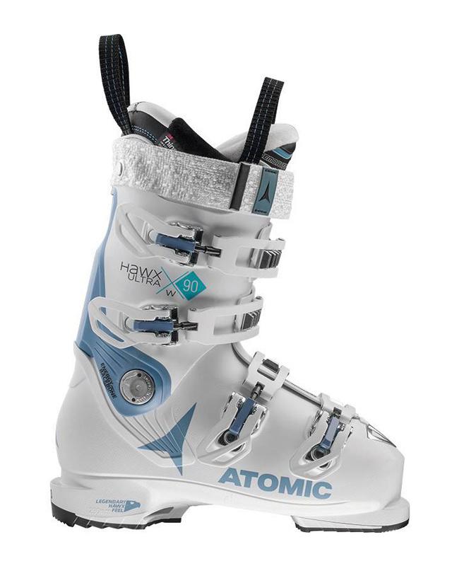 Atomic HAWX ULTRA 90 W: White / Denim Blue