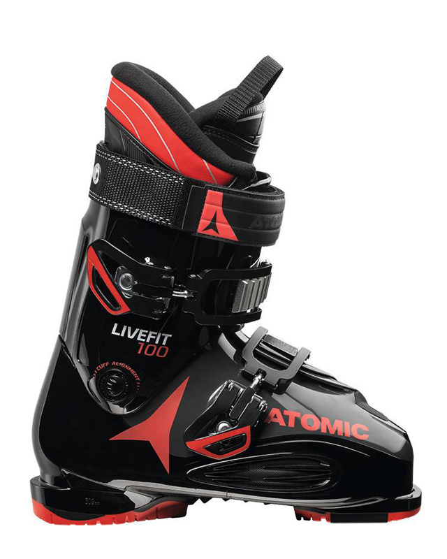 Atomic LIVE FIT 100 Black/Anthracite/Red