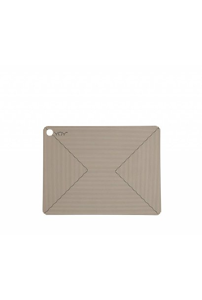 Placemats - clay - Futo - 2 pcs