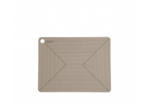 OYOY Placemats - clay - Futo - 2 pcs