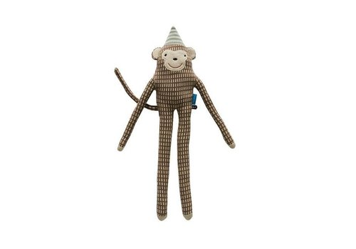 OYOY Cotton knit Animal - Monkey 'Mr. Nilsson'