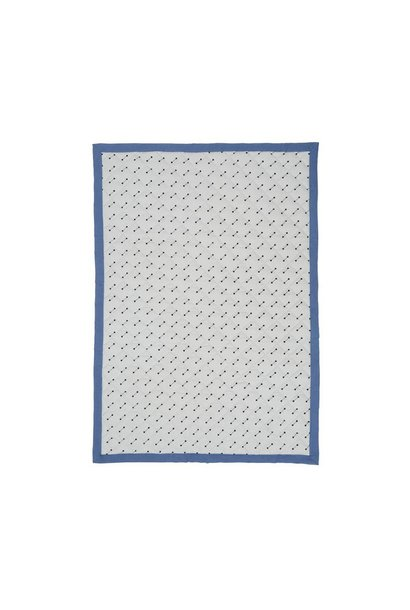 Quilted Blanket - Blue - 70x100cm