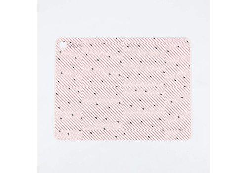 OYOY Placemats - rose line pattern - 2 pcs