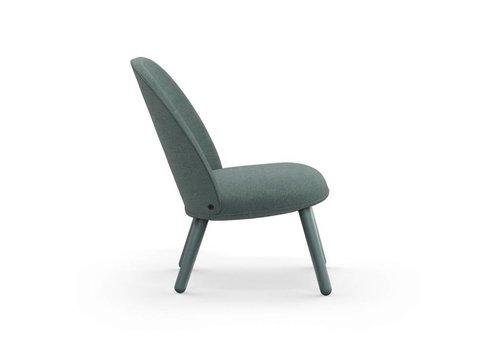 Normann Copenhagen Ace Lounge Chair - Nist Lake Bleu