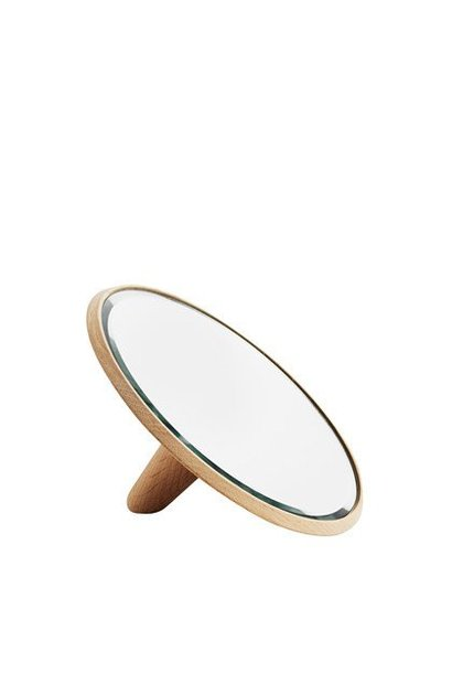 Mirror barb - small - oak