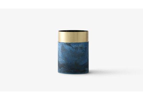 &Tradition LP5 - True Colour vase - Brass Blue