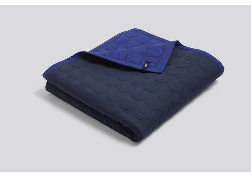 HAY Mega Dot Quilt - Blue - 235x245cm