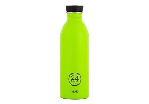 24 Bottles Urban Bottle - 0.5L - Lime Green