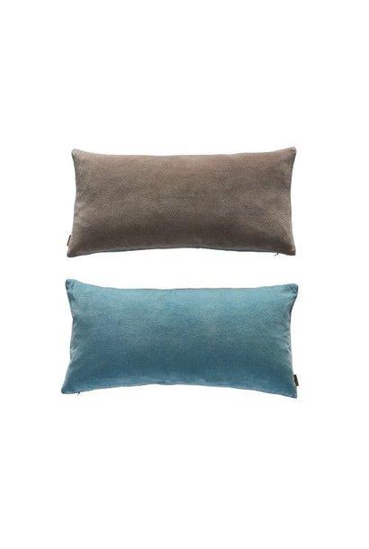 Lia cushion - Tourmaline / Grey Brown - 30x60