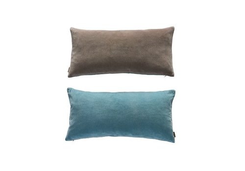 OYOY Lia cushion - Tourmaline / Grey Brown - 30x60