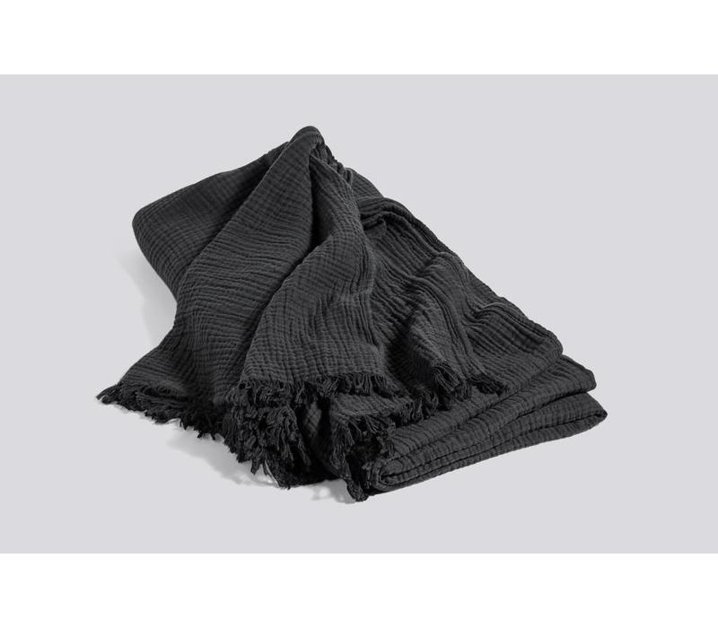 Crinkle bedspread - Anthracite