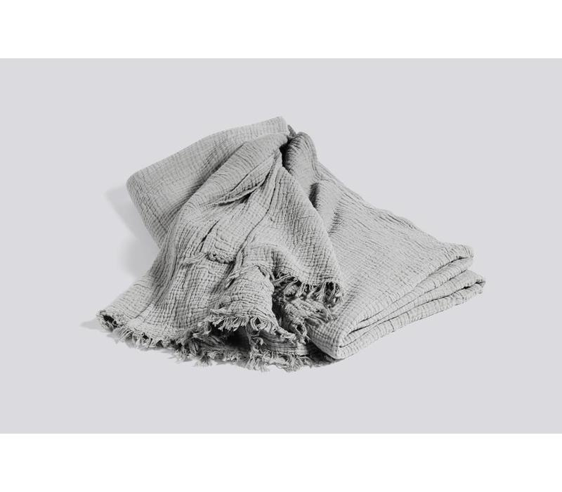 Crinkle bedspread - Grey