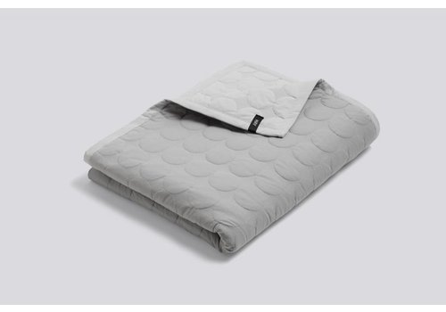 HAY Mega Dot Quilt - Light Grey - 195x245cm