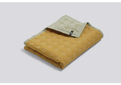 HAY Mega Dot Quilt - Yellow - 235x245cm