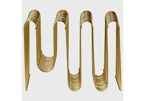AYTM Curva magazine holder - Gold