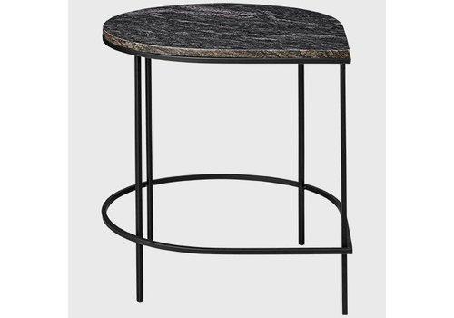 AYTM Stilla - Table with granite top black