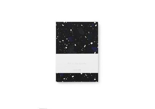 Normann Copenhagen Daily fiction - Notebook - Space Stone Dark - Small