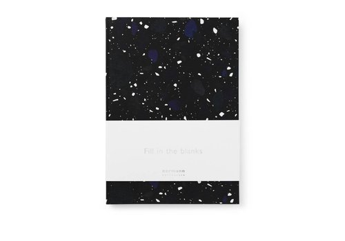Normann Copenhagen Daily fiction - Notebook - Space Stone Dark - Large
