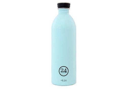 24 Bottles Urban Bottle - 1L - Cloud Blue