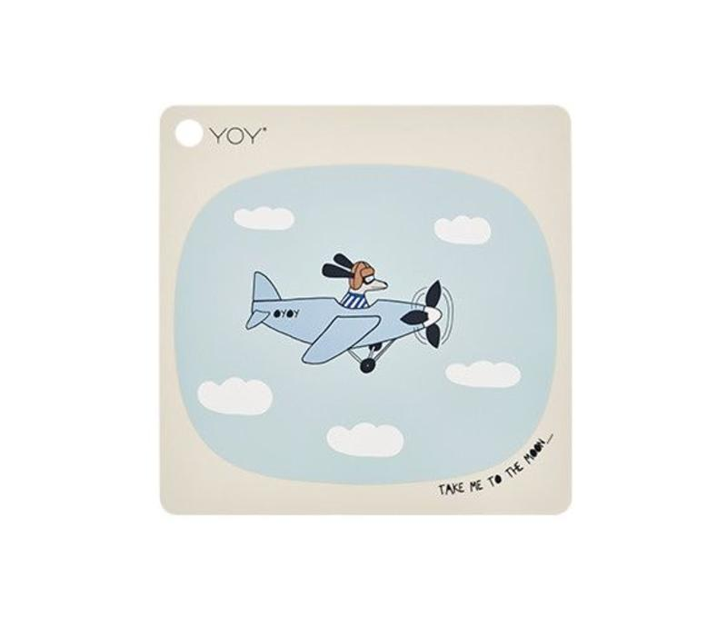 Placemat - kids - take me to the moon - square
