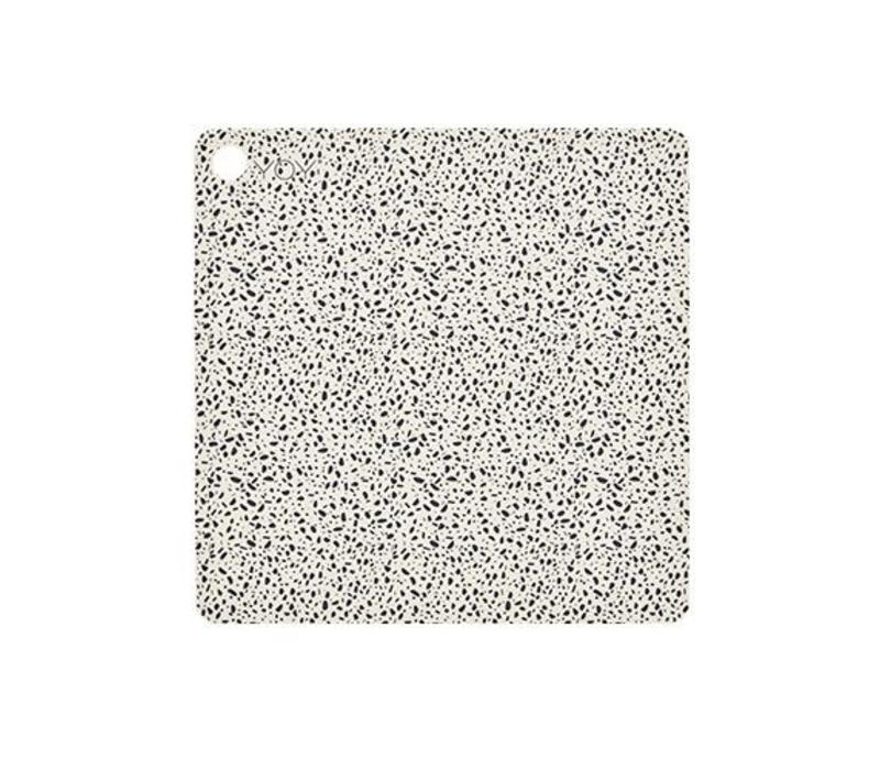 Placemats - square - terrazzo - 2 pcs