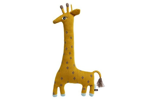 OYOY Cotton knit Animal - Giraffe 'Noah'