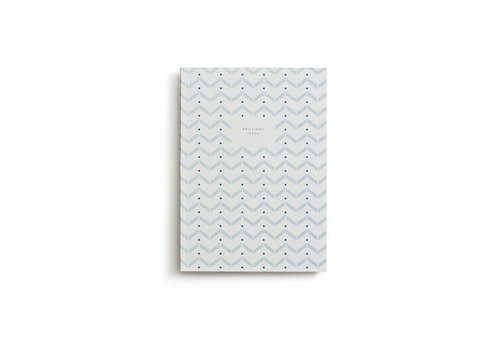 Notebook - Small - Brilliant Ideas - Light Blue