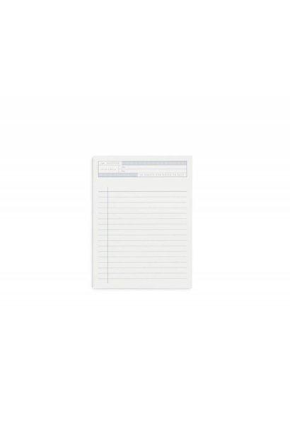 Notepad - Notes to Self - Kartotek