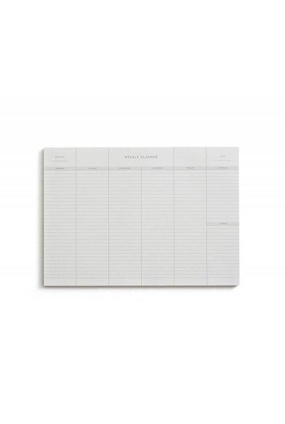 Weekly Planner - Kartotek