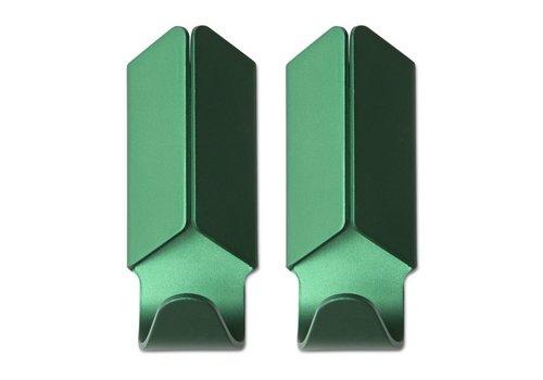 HAY Volet Hook - green - set of 2**