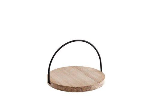 Woud Loop tray - small - black