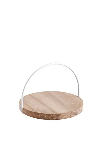Loop tray - small - white