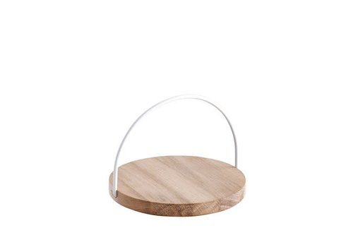 Woud Loop tray - small - white