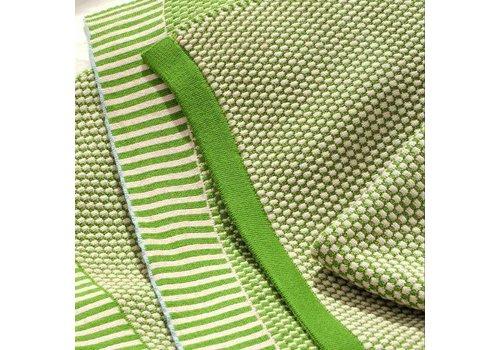 La femme Garniture Doppio - plaid - garden / apple green - 145x195